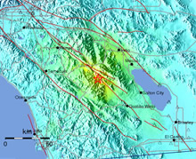 CISN Shake Map of Borrego Earthquake July 7, 2010